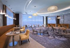 Jumeirah at Etihad Towers Hotel - Abu Dhabi Restaurants - Rosewater