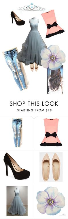 """Eadlyn"" by pattilynn101 ❤ liked on Polyvore featuring Dorothy Perkins, Jessica Simpson, ASOS, Kate Marie and selection"