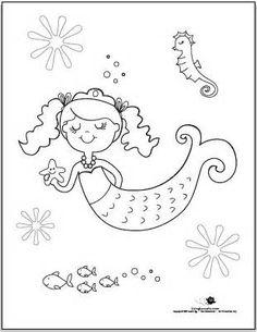 253 Best 美人鱼 Images Mermaids Printables Diapers