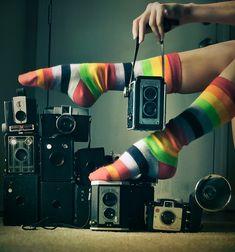 stripes and cameras... oh my!   #camera