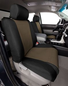 df2a9804cd2 1992-2012 Ford Econoline Canvas Seat Covers - CalTrend Auto Accessories   PATTERN - · Car SearchAuto SearchTruck ...