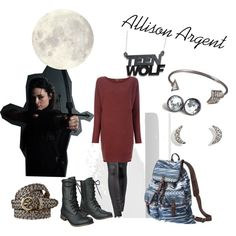 Allison Argent Teen Wolf
