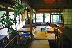 """「古民家→カフェ / Japanese traditional house → Cafe 」 HUG CAFE/ハグカフェ (横浜市/神奈川県) """"http://ikigoto.com/living/tabi/ """""""