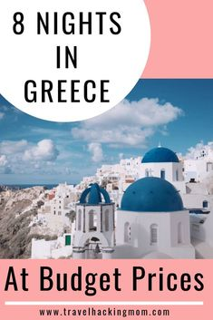 Check out exactly how I went (and how you can too) on a Greece girls trip for 8 nights and took a business class flight there and back without going broke! Santorini Greece, Athens Greece, Crete Greece, Greece Vacation, Greece Travel, Greece Girl, Santorini Travel, Venice Travel, Greek Islands