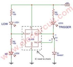 battery low voltage alarm indicator circuits electronics projects