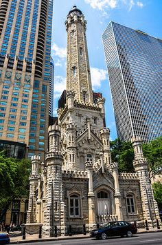 Old Chicago Water Tower along the Magnificent Mile in Chicago IL | Flickr - Photo Sharing!