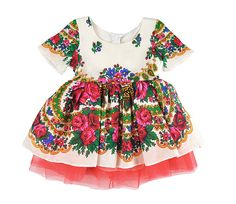 Girlie dress roma & balkanic pattern