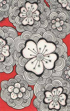 Timeless Rituals: The Garden & Red Doodles