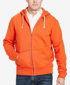 Polo Ralph Lauren Men's Big & Tall Full-Zip Fleece Hoodie
