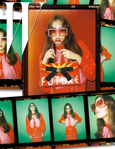 """koreanmodel: """"Seon Hwang by Mok Jung Wook for W Korea Feb 2017 """" Fashion Photography Inspiration, Editorial Photography, Graphic Design Posters, Graphic Design Inspiration, Mise En Page Portfolio Mode, Poster Layout, Photo Layouts, How To Pose, Branding"""