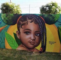 Female Portrait, Female Art, Flower Power, Amazing Street Art, Flowering Trees, Bollywood Actors, Street Artists, Child Models, Bored Panda