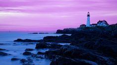 Vacationland's dramatic coastline plays host to attractions like the Portland Head Light.
