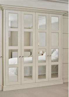Interiors | Style, French doors and Mirrored closet doors