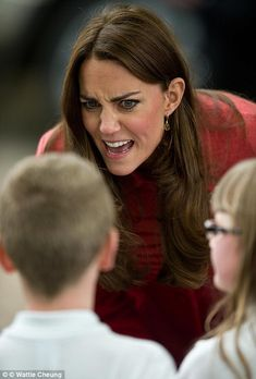 Obliging: The Duchess' new pose came after a visit to a whisky distillery