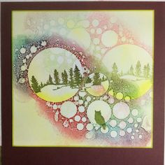 Barbara Gray's Blog. -Using Distress Ink and Stamps on your Gelli Plate.