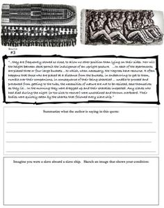 The Atlantic Slave Trade: A Student Exploration into the Horrors!  Let students explore this topic through primary sources, maps, and pictures!  Very engaging!