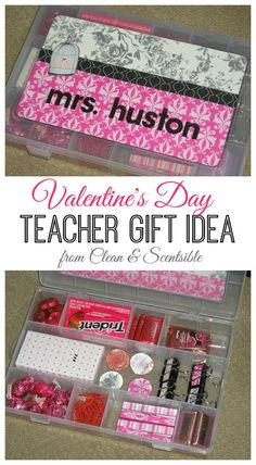 Fun Valentine's Day teacher gift.
