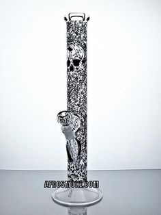 "AMG Glass 18"" Beaker Water Pipe - Skull"