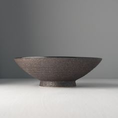 Large Bowl, EARTH BLACK, 24 x 8 cm. Large bowl with earthy black colours from the unique collection Earth Black. Large Bowl, Earthy, Serving Bowls, Decorative Bowls, Colours, Tableware, Unique, Collection, Black