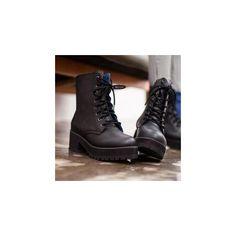 Platform Lace-Up Ankle Boots