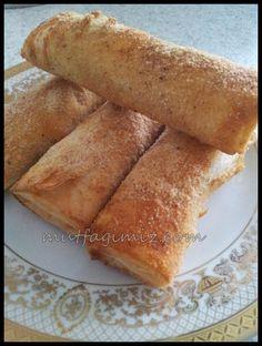 baklavalık yufka ile fırında paçanga böreği