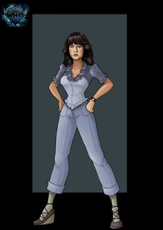 sarah jane 6 (planet of evil)  -  commission by nightwing1975.deviantart.com on @deviantART
