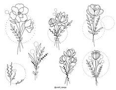 😍😍 which would you do? cndrll_design Usem a Qual você faria? 😍😍 which would you do? cndrll_design Usem a // . Mini Tattoos, Love Tattoos, Body Art Tattoos, Tatoos, Feminine Tattoos, Small Flower Tattoos, Small Tattoos, Simple Flower Tattoo, Flower Bouquet Tattoo