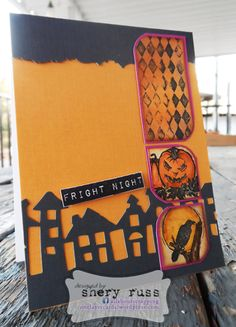 Paper craft project no. 64: Fright night - featuring stamps in the BOO! set (stamplorations.com)
