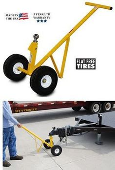 Hand Trucks R Us - Heavy Duty Trailer Dolly - Care Free Wheels | $199.95