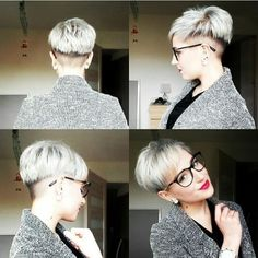 30 Chic Pixie Haircuts: Einfach Kurze Frisur // #Chic #Einfach #Frisur #haircuts #kurze #Pixie
