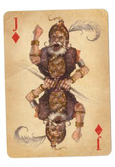 Fable Cards: Jack of Diamonds by Frostbite-Melody.deviantart.com on @deviantART