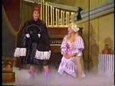 """Carol Burnett and Julie Andrews """"The Phantom of the Opry"""""""