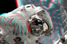 Spacewalk... in 3D!!!! by homerjk85.deviantart.com on @deviantART
