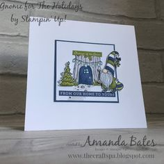 The Craft Spa - Stampin' Up! UK independent demonstrator - Order Stampin Up in UK: Merry Monday - Oh Christmas Tree... and Christmas Card Club