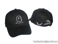 GIANNI MORA Baseball Caps Black 2|only US$6.00 - follow me to pick up couopons.