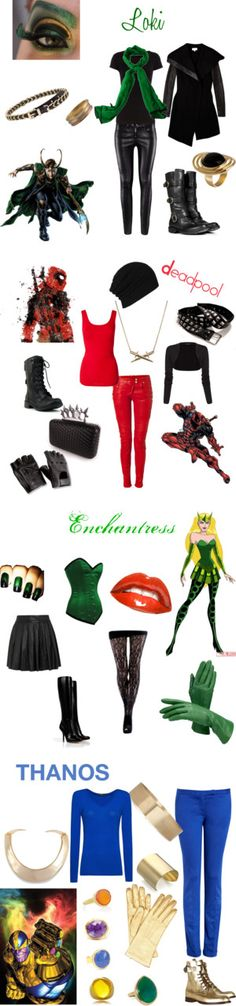 """My Favorite Villians"" by fashiondiva604 on Polyvore"