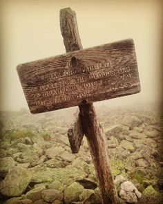 "by its_mart ""A trail marker near the peak of Mount Washington New Hampshire. #mountains #newhampshire #mtwashington #usa #view #hiking #hikingadventures #america #walking #trails #adventure #travelling #signs #wood #direction #onlywayisup #modern #modernart #architectureart #architecture #instalike #instagram #instagood #instadaily #instamood #instafollow #followme #trailblazer"""