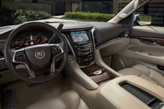 RoadRunner Auto Transport Here is how we top rated. #LGMSports deliver it with http://LGMSports.com 2017 #Cadillac_Escalade interior view