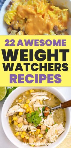 Get the best ideas of dinners, lunches and desserts - Weight Watchers recipes with low SmartPoints to keep you on a healthy and delicious diet! Recipes diet Weight Watchers Recipes with SmartPoints - For Dinner, Lunch or Dessert Diet Plans To Lose Weight Fast, Healthy Food To Lose Weight, Healthy Foods To Eat, Health Foods, Diet Foods, Health Diet, Dinner Healthy, Healthy Eating, Nutrition Diet