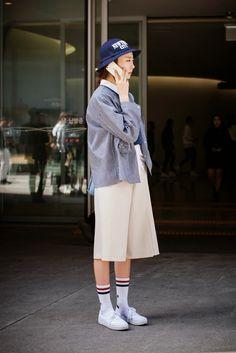 On the street… Arim Lee Seoul fashion week 2015 F/W ~ echeveau