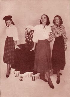 1940s fashion - overview