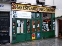 Shakespeare and Compagny, 37 rue de la Bûcherie Paris (France).