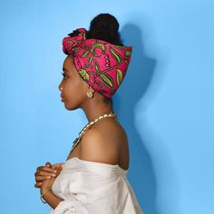 We've added the lovely Pink Famata as a shortie   Shop: ceeceesclosetnyc.com  #headwrap #headwraps #naturalhair #protectivestyles #protectivestyling #protectivehairstyles #blackgirlmagic