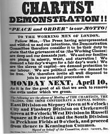 chartism working class and national political One chartist, feargus o'connor even tried, unsuccessfully, to relocate the working classes from the cities to his rural utopia, o'connorville who took part in the chartist campaign chartism was a mass movement that attracted a following of millions.