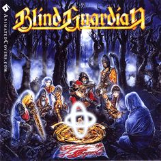 Blind Guardian - Somewhere Far Beyond (animated cover GIF) #blindguardian #somewherefarbeyond #progressivemetal #powermetal #heavymetal #metal #animatedcovers #albumgifs #hansikursch #AndreOlbrich #MarcusSiepen