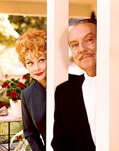I love Lucy..... Lucille Ball and Gale Gordon