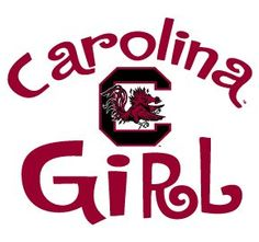 Amazon.com: South Carolina Gamecocks GIRL Clear Vinyl Decal Car Truck Sticker USC: Everything Else