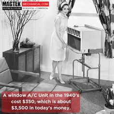 #AC wasn't very affordable back in the 40's. #MagtekMechancial