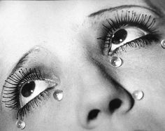 """Man Ray """"Larmes"""" (Tears) Gelatin silver print c. Image from: """"Man Ray History Of Photography, Art Photography, Fashion Photography, Street Photography, Landscape Photography, Wedding Photography, Photography Gallery, National Photography, People Photography"""