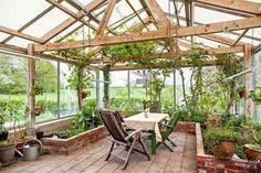 Greenhouse idea #conservatorygreenhouse